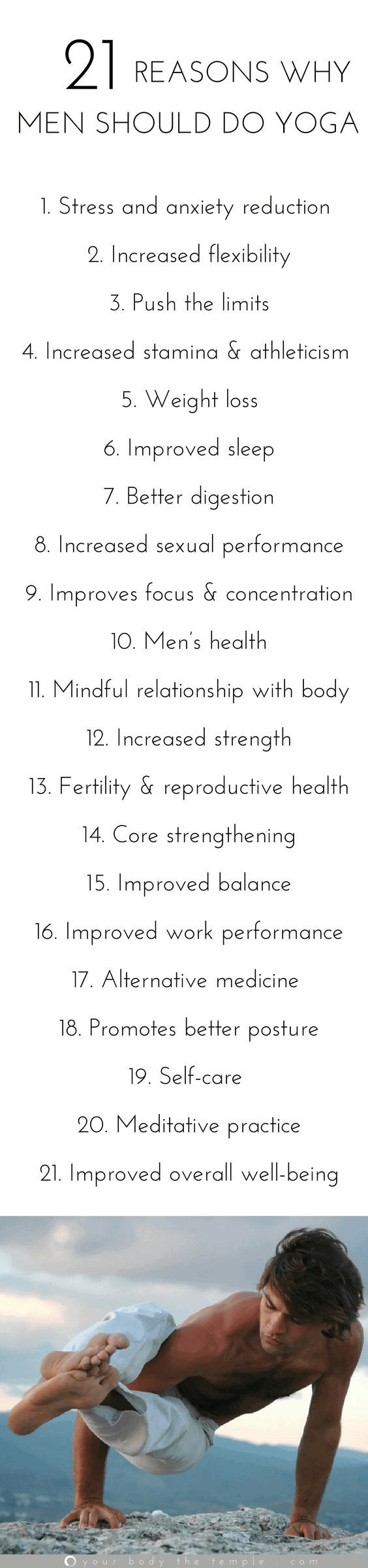 why men should do yoga