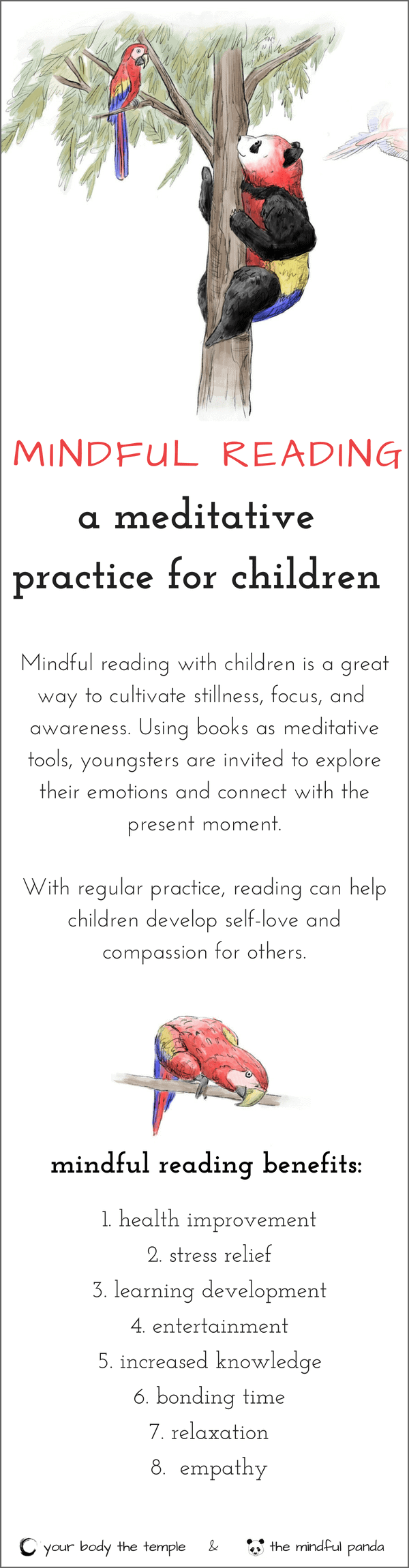 mindful reading with children