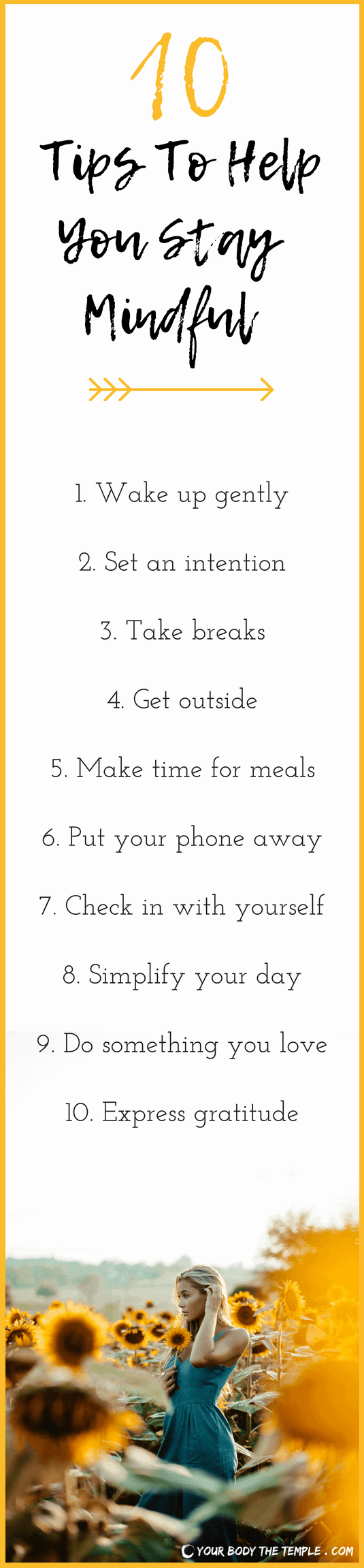 how to stay mindful
